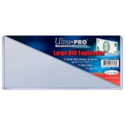 Ultra PRO Large Currency Toploaders (Pack of 25)