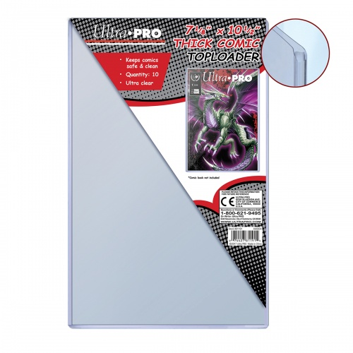 Ultra Pro Thick Comic Toploaders 81191 Pack Of 10 Rcom